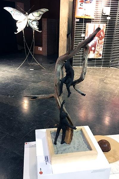 art en chemin, parcours d'artistes à Nivelles