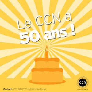 Le CCNIvelles a 50 ans