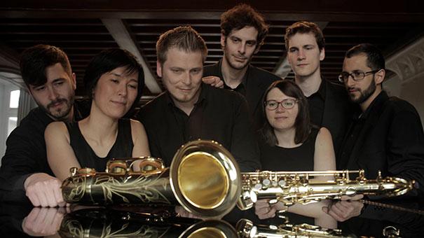 7à8 ensemble de saxophones