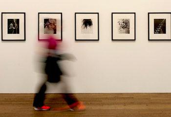 Visite d'un musée d'art contemporain