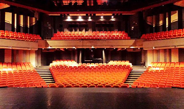 La salle de spectacle du Waux-Hall de Nivelles en location