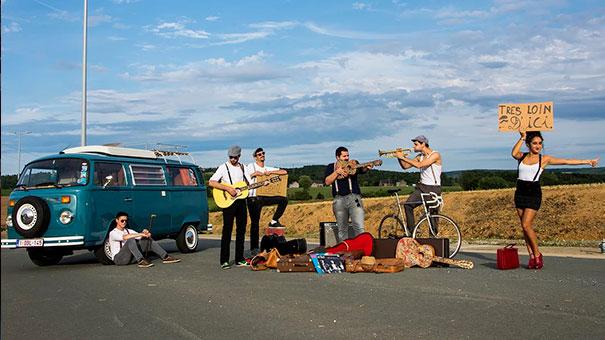 Los Pepes en concert à Nivelles